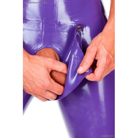 Poche pénis latex